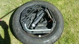 Vw beetle spare wheel
