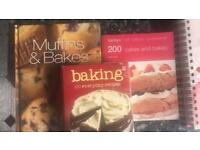 Various Cook Books x6 (bundle or singles)