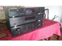 Marantz amplifier, tuner, cd player