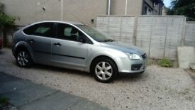 Silver Ford Focus Sport