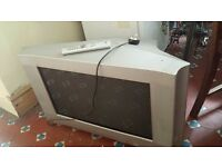 free tv and dvd player -good working condition