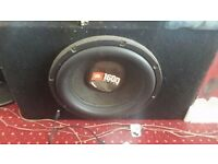 JBL 1600WATTS SUBWOOFER