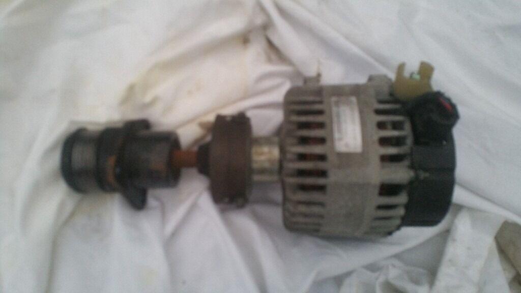 FORD FOCUS / C MAX 1.8 TDCI DIESEL KKDA ENGINE ALTERNATOR WITH PULLEY