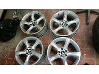 "Bmw 19"" twist alloy wheels"