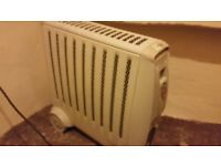 Electric heater ready for winter with eco mode and dispay