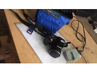 Canon powershot SX500 IS with 64GB MEMORY CARD