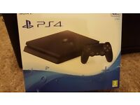 PS4 (PlayStation 4) console slim 500gb - BRAND NEW