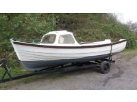 For Sale - My Orkney 16ft fishing boat with trailer.