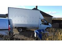 2008 ford transit luton 2.4 tdci 115 in excelent condition all round