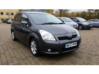 2008 Toyota Corolla Verso 2.2 D-4D SR 5dr with MAIN DEALER SERVICE HISTORY