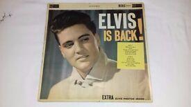 Elvis is Back Gatefold album – Rare Silver spot