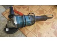 makita 110v 125mm angle grinder