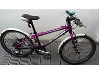 Islabike (Isla bike) child's bike Beinn 20. Aged 6-8. Purple metallic