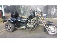 kawasaki motorbike trike springer front end