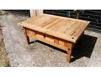 IKEA SOLID WOOD COFFEE TABLE AND MATCHING LAMP TABLE GOOD CONDITION FREE LOCAL DELIVERY