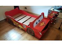 Disney car bed
