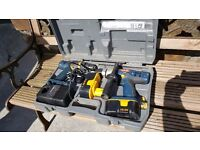 Ryobi Twin pack 18 v cordless set,excellent condition only used on household project