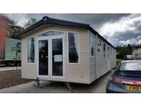Stunning Swift Bordeaux mobile home for sale sited on Riverside Enniskillen