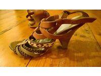 M & S Autograph ladies sandals size 5