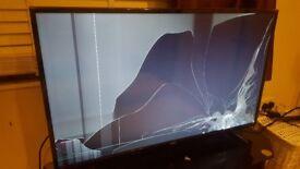 """49"""" LG smart TV spares or repairs"""