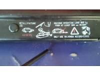 Original car jack and spanner - honda accord / civic mk 6