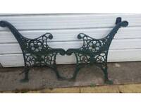 Victorian bench ends