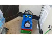 Coin operated train kids ride arcade machine