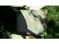 Large paving slabs