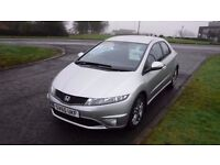 HONDA CIVIC Si CDTi(60)plate,Alloys,Leather,Cruise,Air Con,1 Previous Owner,Full Service History