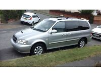 Kia SEDONA DIESEL - 7 seater, Good condition, only 2 owners, perfect family car