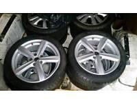 "17"" inch alloy wheels"