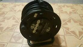 extension cable reel wire 25 meter 13 amps 3120W
