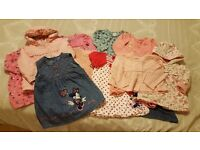 Baby Girl Clothes Bundle (6-9 months)