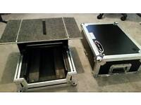 10inch Dj mixer flight case