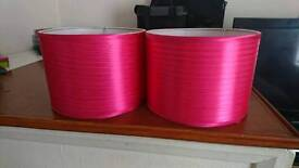 Pink light shades