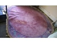 Large princess rug
