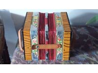 VINTAGE GERMAN CONCERTINA