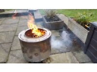 Fire Pit Barbecue Planter ? you choose