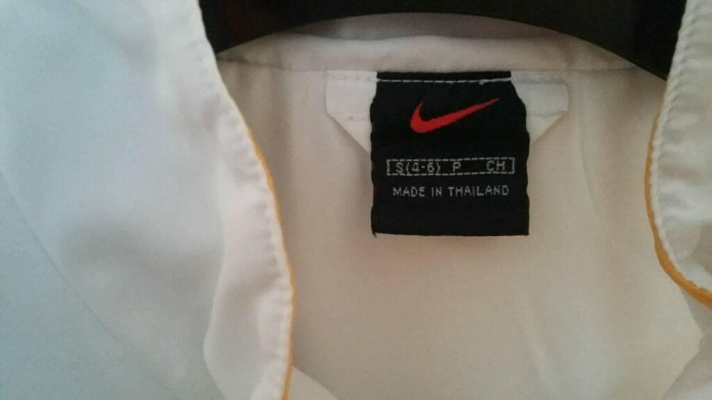 Nike zipped sports jacket