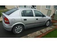 Vauxhall astra club 8v 1.6 petrol