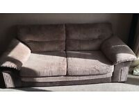 DFS 2 and 3 seater sofa for sale in excellent condition