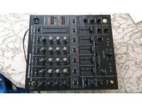 Pioneer DJM-500 DJ mixer. Near mint cond. With manual. PICK UP HARROGATE
