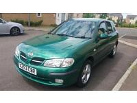 Nissan Almera one year mot great conditions very clean