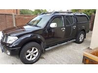 Nissan nivara dc truck with back box fitted
