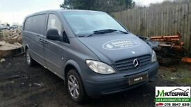 2007 Mercedes Vito 111Cdi Xlong ***breaking only spare parts avalable***