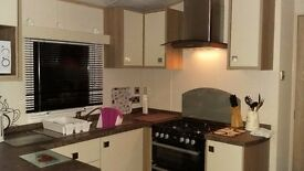2 bedroom static caravan at Wooler Northumberland sleeps up to 4 people