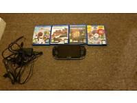 PS Vita (8gb) 4 games