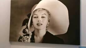 Large Marilyn Monroe Canvas Print