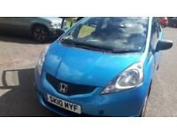 2010 Honda Jazz 1.2 i-Vitec SE with long mot, cheap R.Tax, 42000 miles & only 1 prev lady owners