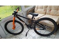 Exile Jump Bike, X rated 24 inch wheels. Excellent condition